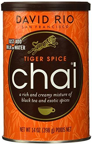 David Rio - Tiger Spice Chai, Pappwickeldose (1 x 398 g)