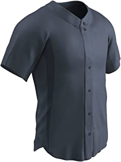 CHAMPRO Full Button BS149 Adult and Youth Uniform Shirt Baseball Jersey Top