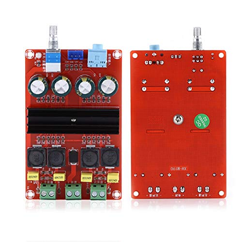 Eindversterker Board DC12-24V High Power 2 * 100W Dual Channel Digitale Versterker Audio Board Stereo Amp Elektronische Versterker