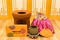 ファンジン 黄土座浴器 フルセット 【フルセット+座浴剤+新型ガウン2着】