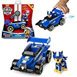 Paw Patrol, Ready, Race, Rescue Chase's Race & Go Deluxe Vehicle with Sounds