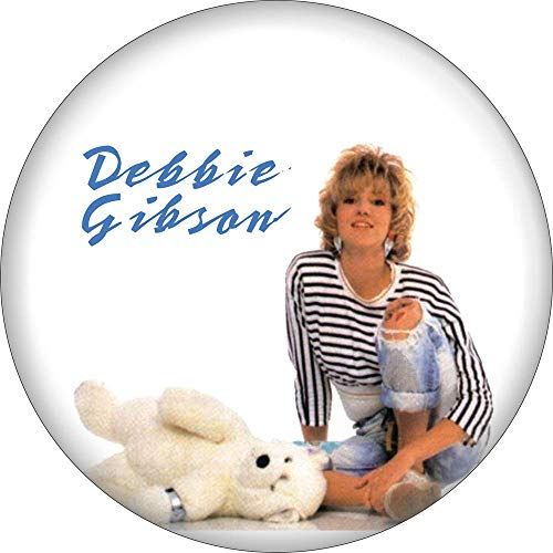"""Debbie Gibson - Out of the Blue Album Cover - 2.25"""" Round Magnet"""