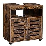 VASAGLE Mueble de Lavabo, Mueble de Baño, Armario de