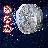 FGHHT Nachtlicht Home Solar Mückenvernichter Solarbetriebene Buzz UV-Lampe Licht Fliegen Insekt Käfer Moskito Kill Zapper Killer Gartenlampen