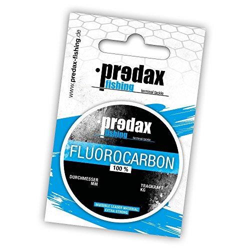 Predax Fluorocarbon Vorfach 1,00mm 33,7Kg 20m Spule, Fluoro Carbon Schnur, Fluro carbon Vorfach, Vorfachschnur, Angelschnur, Predax Fishing Schnüre, durchsichte Angelschnur