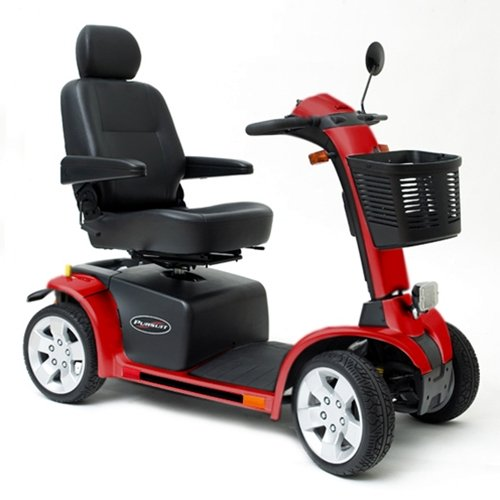 Why Should You Buy Pride Pursuit Mobility Scooter - Candy Apple Red - S713