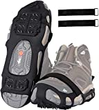 Crampons Ice Cleats for Shoes and Boots,Snow...
