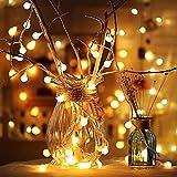 3 Set di Luci A Stringa LED 3m 20pcs Alimentate A Batteria, Due modalità di Natale, Matrimonio, Compleanno, Decorazioni per Feste Interne Ed Esterne Lucide