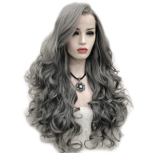 Viesky Peluca larga de 26 pulgadas de fibra sintética de alta temperatura de fibra sintética con peluca larga para uso diario de mujer