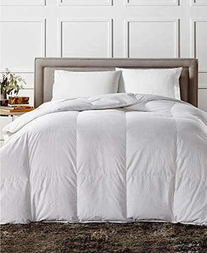 Charter Club European White Down Medium Weight Full Queen Comforter - Hypoallergenic, UltraClean