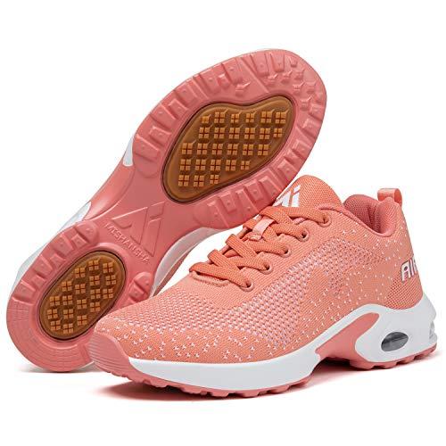 Mishansha Chaussures de Sport Femme Golf Chaussure Filles Antidérapant Running Baskets Dame...