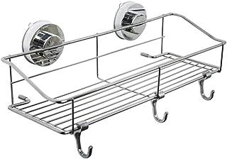 浴室用ラック 強力 吸盤 お風呂用 ステンレス 水切り バス用品 改良