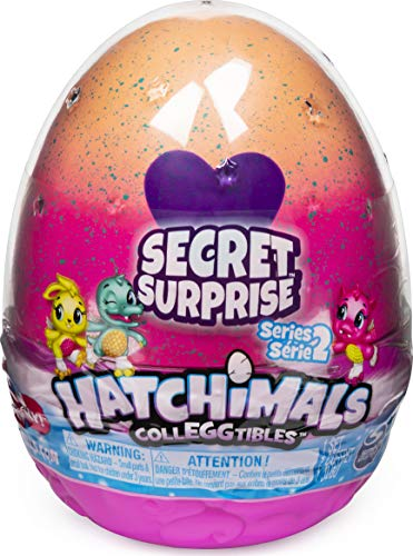 HATCHIMALS CollEGGtibles, juego sorpresa secreta con 3