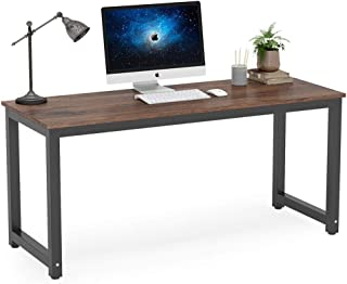 Tribesigns Computer Desk, 63 inch Large Office Desk Computer Table Study Writing Desk..