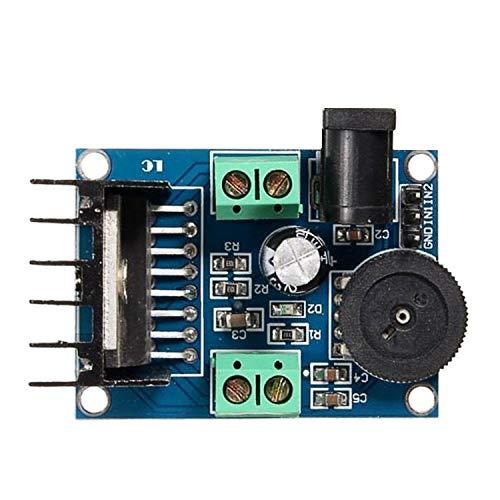 Kuhe LDTR-WG0251 DC 6-18V TDA7297 audio-versterker DIY modulaire plaat dubbelkanaals 10-50W vermogenmodule