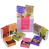 Zahra Premium Masala Back Flow Cones- NAQSH Masala Back Flow Natural Incense Cones Assorted 10 Fragrances with 8 Cones Each