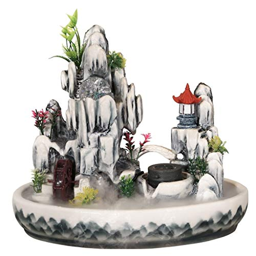 Hogar y Cocina Fuentes de Interior Característica decoración Interior de la Oficina Mesa con Fuente Cascada de Agua cristalina de la Bola de Interior y al Aire Libre de rocalla Fuente de Escritorio