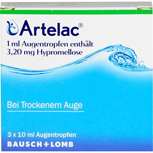 Artelac Augentropfen Tropffläschchen, 30 ml Lösung
