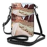 Arches National Park Entrada Impresión Pequeño Bolso Del Teléfono Celular,Pequeño Bolso Crossbody Mini Bolsa De Teléfono Celular Bolsa De Hombro