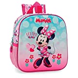 Mochila guardería frontal 3D Minnie Heart
