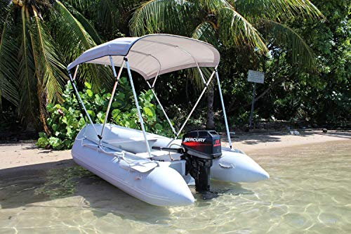 Why Should You Buy Inflatable 1.2mm PVC Dingy Raft Fishing Boat W/Canopy & Aluminum Floor New (10x5f...