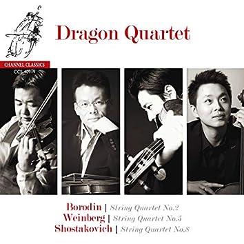 Dragon Quartet: Borodin - Shostakovich - Weinberg