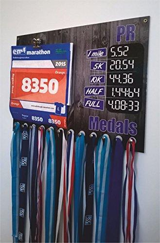 Percha de medallas para corredores