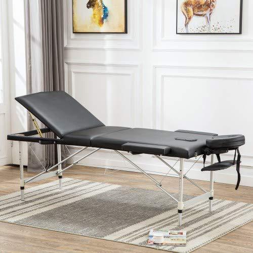 GHJ Massage Table 期間限定今なら送料無料 Portable Bed PU Inc 84 leather 本物 Spa