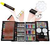 200pcs Conjunto de Dibujo de Arte, Creatividad Herramientas de Pintura Incluye Crayones de Cera, Acuarelas, Lápices de Colores, Pasteles, Regalos para Niños, Estudiantes, Principiantes y Artistas#1