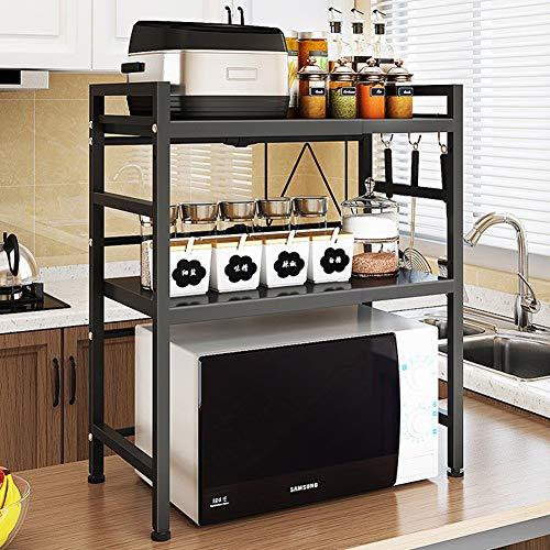 Wmeat-S Estante para Microondas Multi-función Estantería de Cocina Soporte para Microondas Estante (Size : 2-Tier)