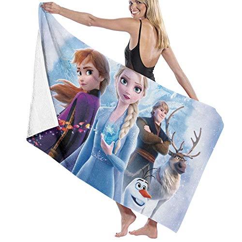Custom made Toalla de baño de microfibra de Frozen, 70 x 140 cm, toalla de playa grande para deportes, accesorios de camping