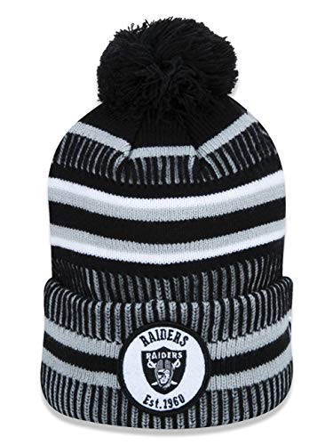 New Era On Field Sport Knit Hm Beanie ~ Oakland Raiders
