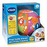 Vtech - 166105 - Jouet Musical - Magi Balle D'éveil Des P'tits Copains - Version FR