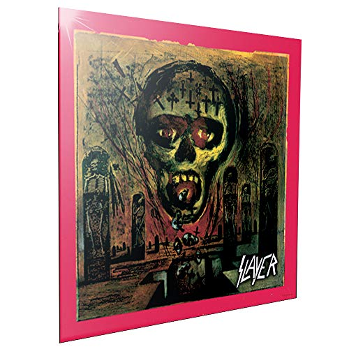 Nemesis Now Crystal Clear Picture 32cm Slayer Seasons in The Abyss-Cuadro de Cristal (32 cm), MDF y Resina, Negro, Talla única