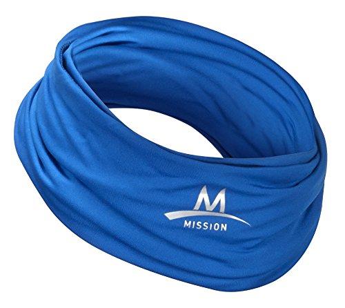 Mission Cooling Neck Gaiter, 12+ Ways to Wear, Face Mask, Headband, Head Wrap, UPF 50 Sun...