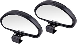 DC 2pcs Universal Car Blind Spot Wide Angle Rear Side View Mirror Vehicle Suv Truck Motorcycle