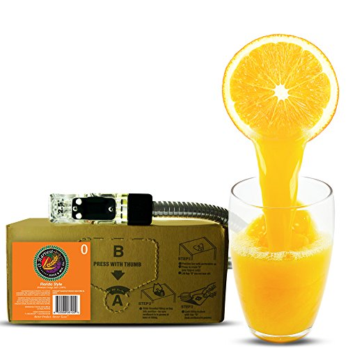 Bar Beverages Florida Style Craft Orange Juice (3 Gallon Bag-in-Box Syrup Concentrate) - Box Pours 15 Gallons of Orange Juice - Use with Bar Gun, Soda Fountain or SodaStream