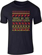 Pop Threads Yippee Ki Yay MFer Christmas Sweater Funny Short Sleeve T-Shirt