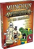 Pegasus Spiele 17021G Munchkin Warhammer Age of Sigmar: Tod und Zerstörung [Erweiterung]