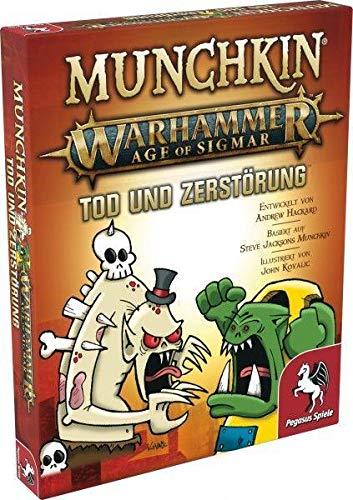 Pegasus Spiele 17021G - Munchkin Warhammer Age of Sigmar: Tod und Zerstörung [Erweiterung]