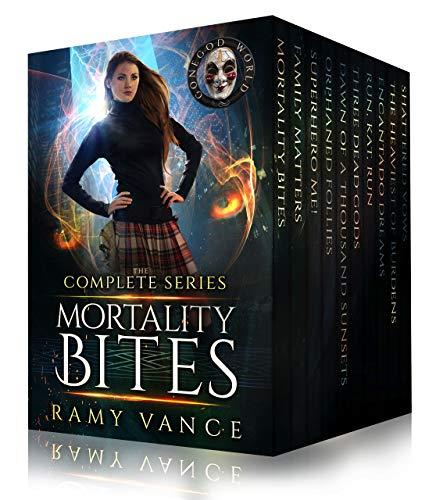 Mortality Bites - The COMPLETE Boxed Set (Books 1 - 10): An Urban Fantasy Epic Adventure (English Edition)