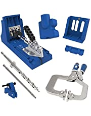 Kreg K4MS-INT Pocket Gat Jig, Blauw