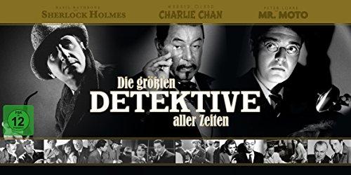 Die größten Detektive aller Zeiten (34 Discs)