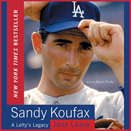 Sandy Koufax audiobook cover art