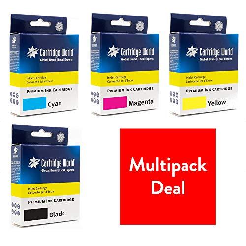 Cartridge World Cartucho de tinta compatible con HP 934XL + 935XL Multi-Pack