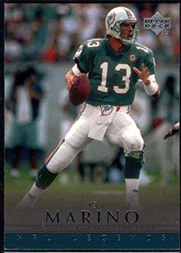 Football NFL 2000 Upper Deck Legends #33 Dan Marino Dolphins