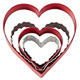 Wilton Nesting Hearts Cookie Cutter Set, 4-Piece