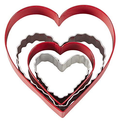 Wilton Heart Shaped Cookie Cutters
