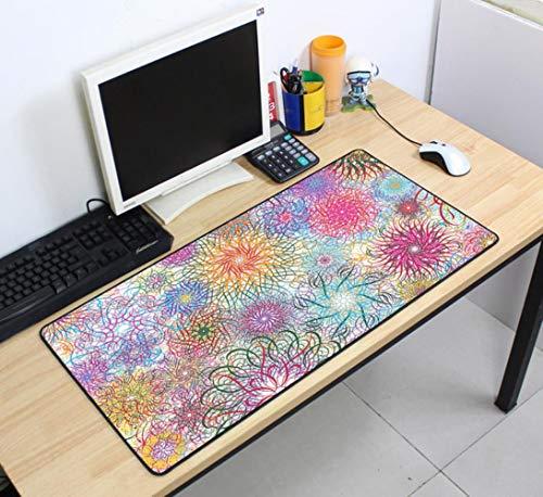 Grote XXL muismat 700x400mm snelheid toetsenborden Mat rubberen gamingmuismat Bureaumat voor gameplayer Desktop PC Computer Laptop, muismat 7, afmeting 700x400x4mm