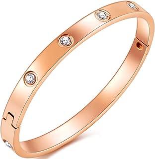 Women Love Bracelet Graduation Bracelets for Girls Adults Girlfriend Birthday Gifts,Fashion Jewelry for Women,Friendship Bangle Bracelets